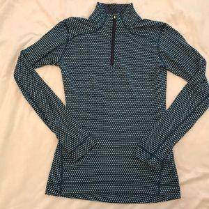 Smart wool 1/4 zip pullover